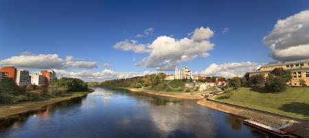 view of the city of Vitebsk, Belarus