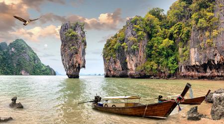 ジェームズ ・ ボンド島、パンガー湾、タイ