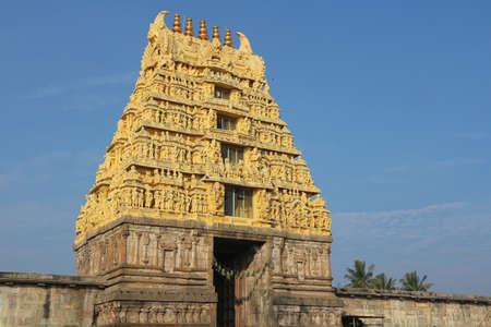 Archaeological survey of India Belur Chennakeshava Temple. Karnataka, India Stock Photo