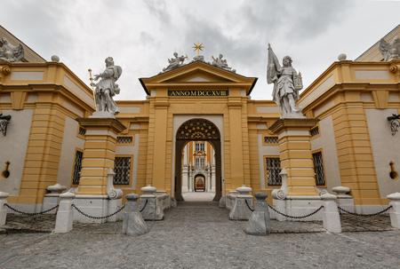 Melk Abbey, main entrance. Lower Austria. 写真素材