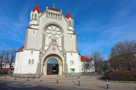 Old parish church Hetzendorf (Rosenkranzkirche). Vienna, Austria.