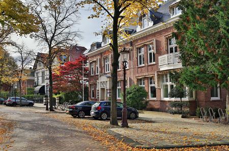 Straat Koningslaan in het centrum van Amsterdam. Nederland. Stockfoto