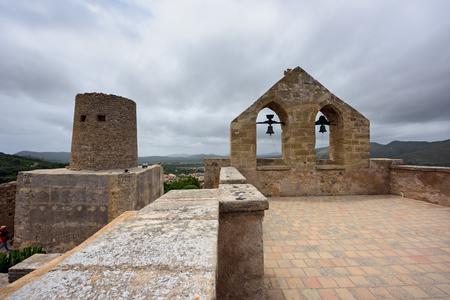 CAPDEPERA, SPAIN - JUNE, 14. Castle of Capdepera on June 14, 2016 in the municipality Capdepera, island Majorca, Spain.