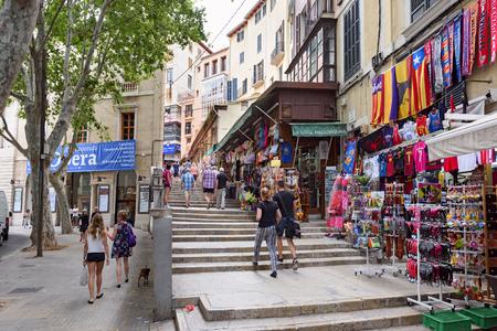 Palma city shopping