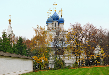 Church of the Kazan icon of the Mother of God of the seventeenth century in the park Kolomenskoye. Moscow, Russia. Editorial