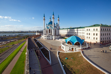 Kul Sharif Mosque in the Kazan Kremlin. Kazan, Republic of Tatarstan, Russia Redakční