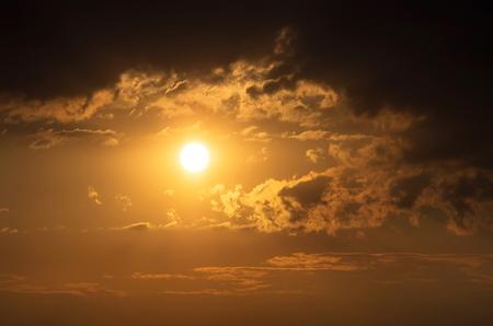 nebulosity: beautiful evening sky