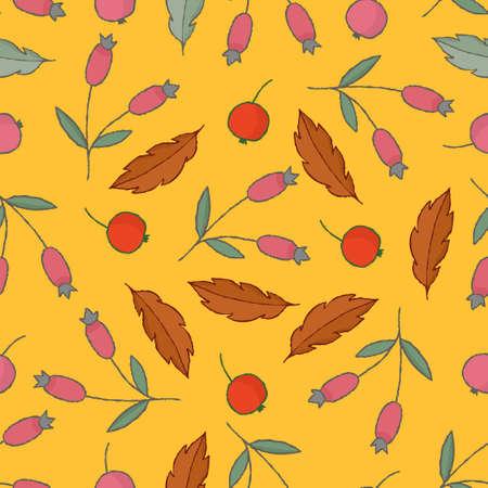 Autumn abstract background. Vector illustration