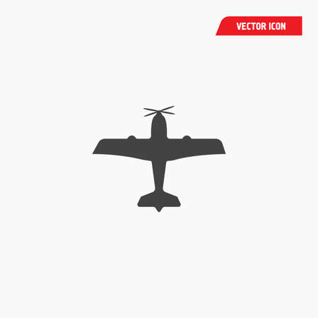 airport biplane aircraft icon,  airlines Çizim