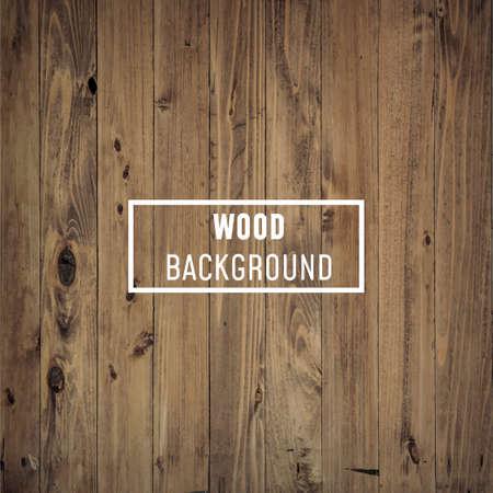 Legno, fondo di legno o struttura con bordo bianco per il testo su di esso - Vector, Image Vettoriali