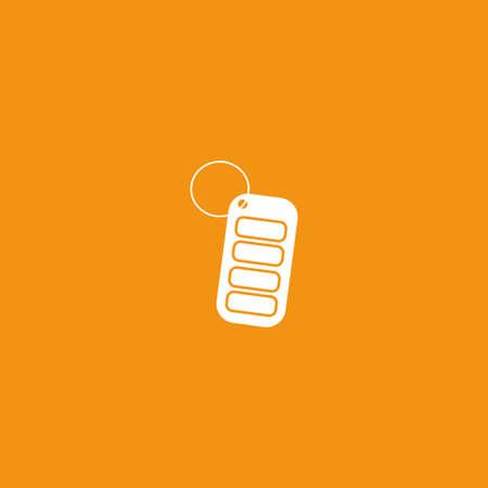 Keys icon illustration isolated vector sign symbol