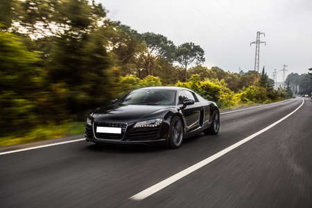 Brand new luxury sport sedan car