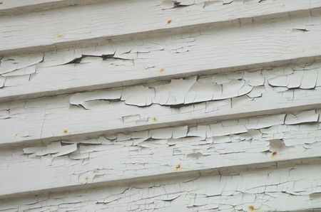 The side of a house in Wickford showing the effects of extreme weathering. 版權商用圖片