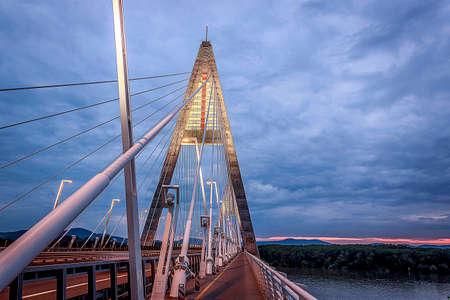 megyeri: Megyeri bridge Stock Photo