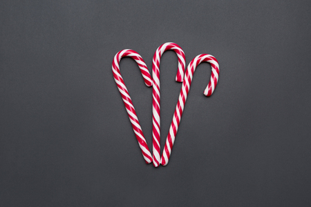 Three Candy Canes Together