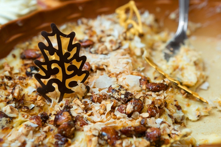 Delicious, Decadent and Festive Dessert with Nuts