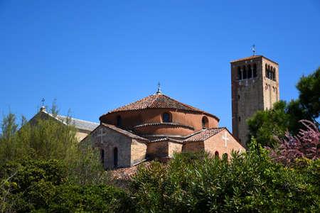 The Church of Santa Maria Assunta, Basilica di Santa Maria Assunta. It is a notable example of Venetian-Byzantine architecture, one of the most ancient religious edifices