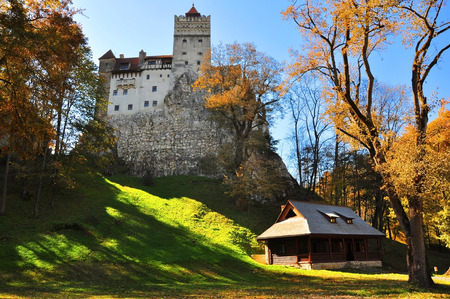 Bran Castle, Dracula in autumn
