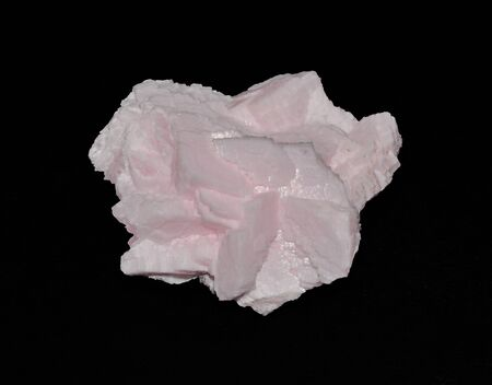 calcite: Calcite manganese in pink crystals Stock Photo