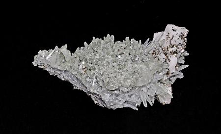 chakra balancing: Cluster of quartz calcite and pyrite