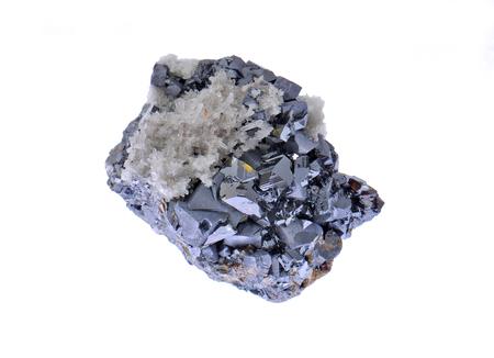 sphalerite: Brilliant zinc blend crystals, Galena and quartz matrix
