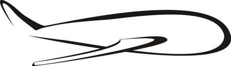 air freight: illustrazione del concetto di aeromobili Vettoriali
