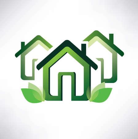 global village: eco home concept