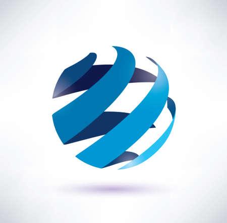 abstracte wereld symbool, geïsoleerde pictogram, internet en social network concept