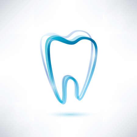 tand symbool Stock Illustratie
