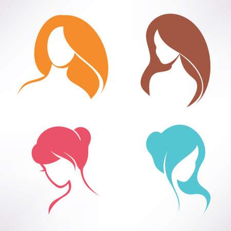 haircut icons set Stock Vector - 23867284