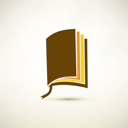 bible story: book isolated vector symbol