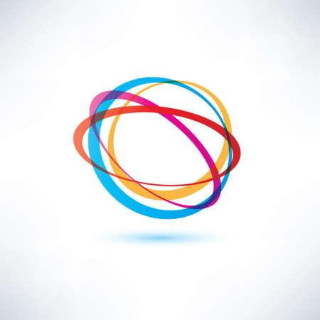 vector symbol: abstract vector symbol, business deisign element Illustration