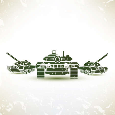regiment: military tank symbol