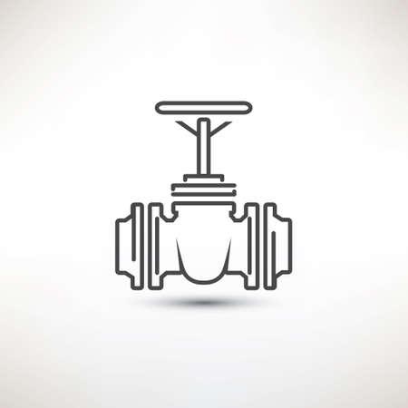 valves: Valve symbol Illustration