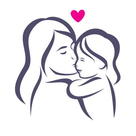 https://us.123rf.com/450wm/baldyrgan/baldyrgan1504/baldyrgan150400038/39510791-stock-vector-mother-and-daughter-stylized-vector-silhouette-outlined-sketch-of-mom-and-child.jpg?ver=6
