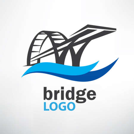 bridge symbol logo template