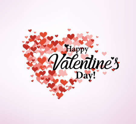 Valentines day card stylized vector template Stockfoto - 120385462
