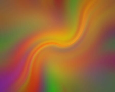 saturated color: Flowing psychedelic streaks of saturated color
