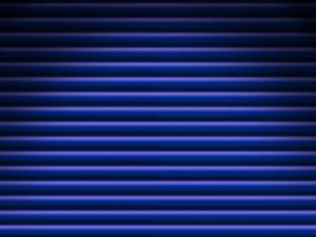 dramatically: Blue horizontal tube background dramatically lit
