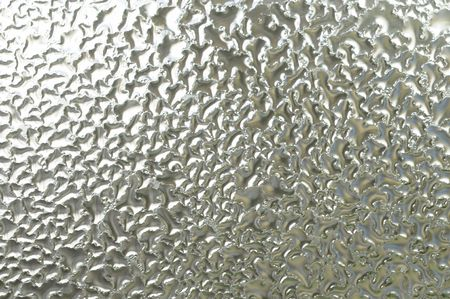 wetness: Water condensation on glass. Horizontal