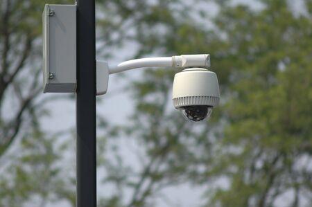 Outdoor video security surveillance cctv camera photo