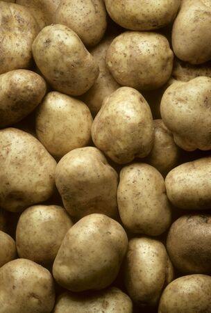 Potatoes filling frame Vertical