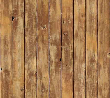 A distressed wooden surface texture seamlessly tileable. Boards are running vertically. photo