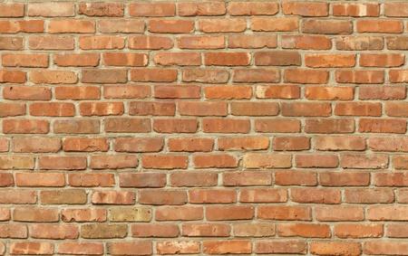 Verweerde rode bakstenen muur textuur naadloos tileable