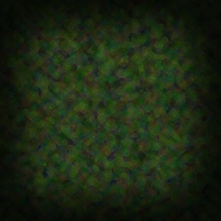 Painterly mottled green background. Square Imagens