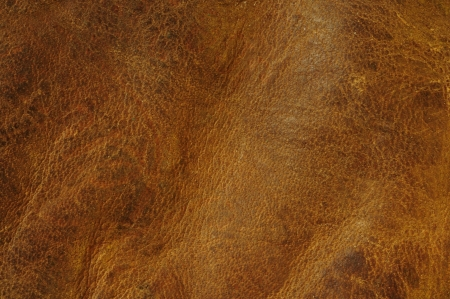 Distressed brown leather texture background