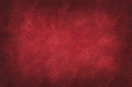 Red mottled background with dark vignette around the edges