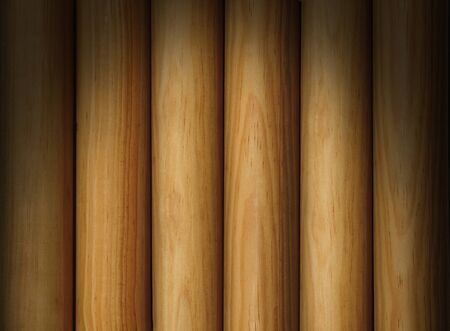 Wooden poles forming a background texture lit dramatically from above Stock Photo - 13550476