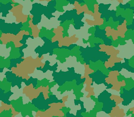 tileable: Green camouflage seamless tileable pattern