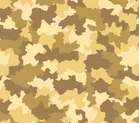 Desert camouflage pattern seamlessly tileable